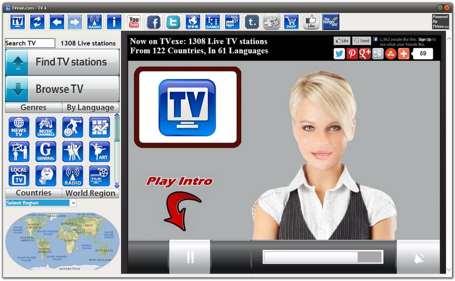 Download - Watch 1300+ Live TV channels on your PC, Free